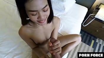 Hungry For Nan - Cute Asian Amateur Girl Makes Her First Sex Tape