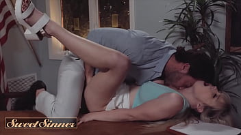 Lilly Bell Has  An Intimate Moment With Her Un ent With Her University Professo