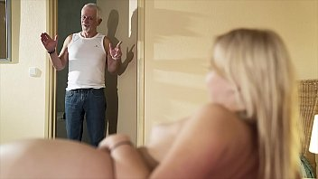 Hello grandpa please fuck my pussy and let me swallow cum