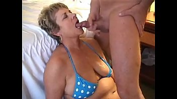 Cougars giving blowjob and getting cum in mouth compilation