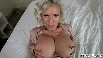 Hot and bustylicious MILF Casca Akashova enjoys having a wild dick ride with her stepson while bouncing her giant tits and go crazy until orgasm.
