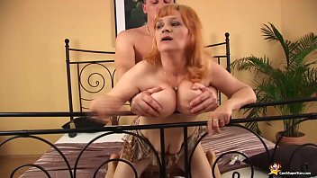 redhead busty hairy mature rough fucked
