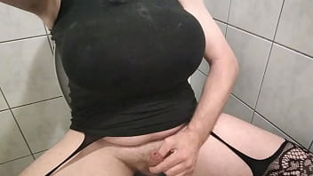 Pissing in bathroom mother in law