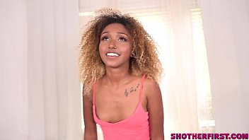 Shot Her First Porn video for young Kikki Star porn image