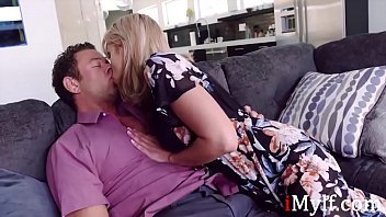 MILF Sneaks A Fuck With Hot Stud- Amber Chase