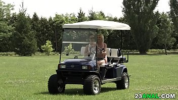 Anal sex on the golf court