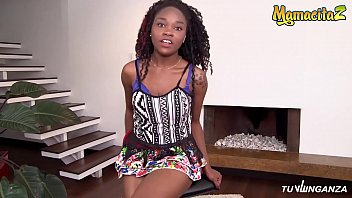 MAMACITAZ - Sexy Ebony Latina Pantera Record On Tape Her r. Sex Session