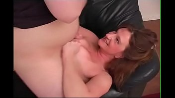 BBW Gets Tit Fucked On Couch