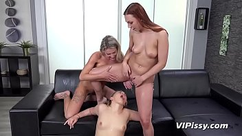 Pissing Threesome With Hot Euro Babes preview image