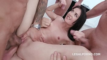 Hardcore Pee with Roxy Del Manhandle, Balls Deep Anal, DP, Gapes, Pee Drink, Swallow GIO1208