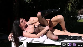 After toying hot mature India Summer fucked so hard in tight pussy and sweet mouth