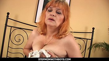 StepmomWithBoys - Gold Haired Mature Stepmom Fucking Stepson