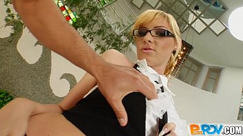 Pure Pov Secretary With Glasses Fucked In The Ass