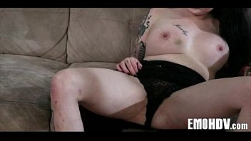 Tattooed goth babe 770 5 min