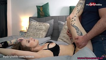 MyDirtyHobby - Gorgeous babe Hanna Secret made him cum twice in her mouth