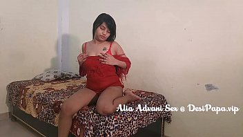 Alia Advani Sexy Indian College Girl Big Boobs Fondled 7