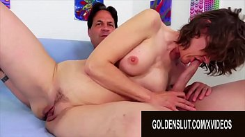 Golden Slut - Older Brunette Floozy Babe Morgan Compilation Part 2