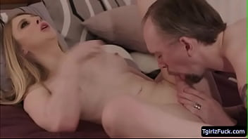 Tbabe Janelle Fennec swallows Kais cock