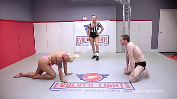 Busty London Rose Nude Wrestling Cody Carter Screwed On The Mats And Totty Fucked Hard