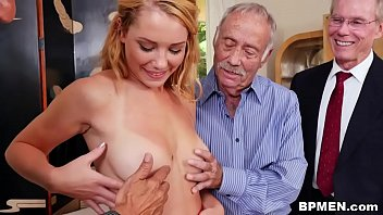 Old girls fucking older men - Raylin ann gets gangbaged by old men