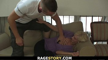 Punished blonde wife takes it deep and rough