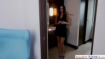 Big tits Latina video chats you while you're at work! Naughty America