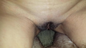 riding the cock spreading the pussy lips