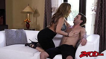 Cougar Richelle Ryan makes hubby watch her fuck another man
