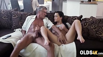 Little slut cheats bf with his perv dad -Erica Black