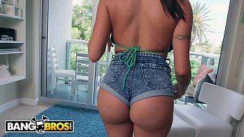 Bangbros Brunette Milf Julianna Vega Bounces Her Big Ass On Jmac's Dick thumbnail