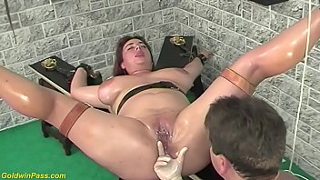 monster tit oiled bbw stepsister squirting