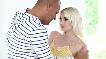 GIRLSRIMMING - Incredible rimming with petite blonde teen Miss Melissa