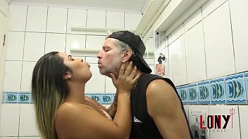 EXTREMELY HOT Victoria Dias teasing and dominating her bitch in Victoria's Bitch 1 - in the Bathroom - by LonY Fetiches