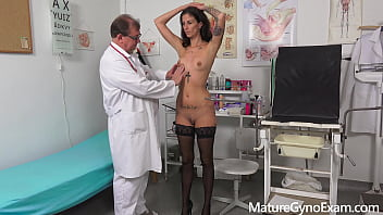 Gyno exam on milfs - Slender milf ali bordeaux made to cum by freaky doctor - maturegynoexam.com