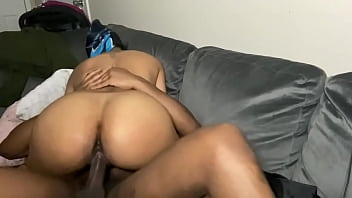 Cheating redbone milf with a fat ass riding dick