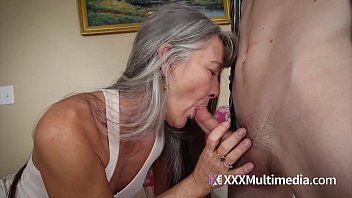 Mature lady doing it in the office