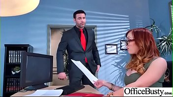 (Dani Jensen) Hot Sexy Girl With Big Round Boobs In Sex Act In Office clip-09