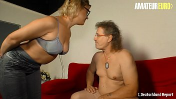 AMATEUR EURO - German Manuela P. Bangs With Older Guy And She Likes It