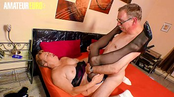 AMATEUR EURO - German Granny Susanne H. Fucks With Horny Hubby