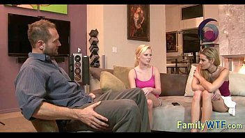 Husband and wife fuck the babysitter 835