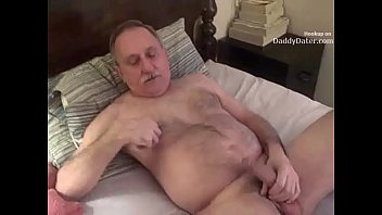 Mature gay sucking cock Hairy hung silverdaddy grandpa sucking my uncut cock
