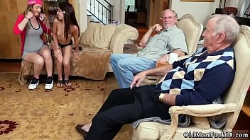 Real daddy fuck crony's daughter amateur and hot old blonde granny