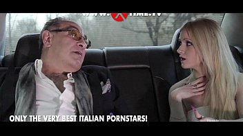 Rossella Visconti banged in a limousine