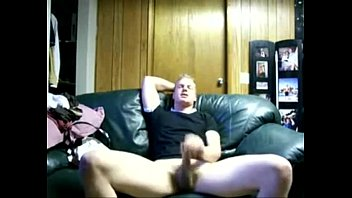 horny blonde stud jo and eating his cum Thumb
