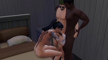 Husband Sharing his Wife With Black Friend on her birthday