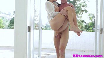 Gorgeous model pussylicked before making love