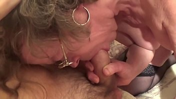 old italian lady fucks with young man