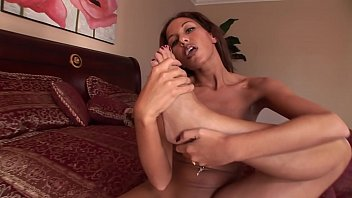 Cute white slut Adriana Deville sucks a huge cock and gets fucked in her tight little ass