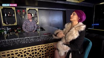 SUGARBABESTV: Greek Milf Elena Xatzi get fuck behind the bar