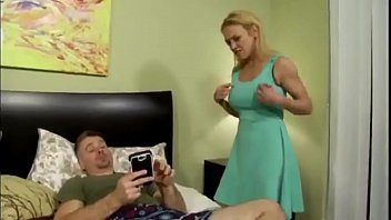 Son Blackmails Mom for Anal 8 min